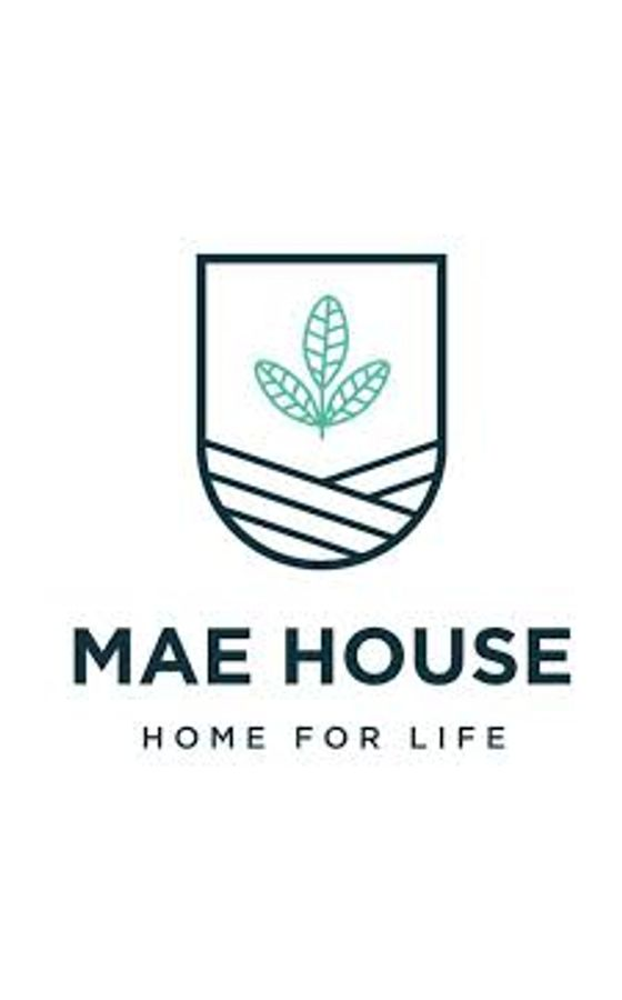 Mae House  logo