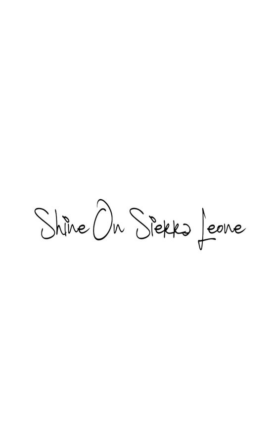 Shine On Sierra Leone logo