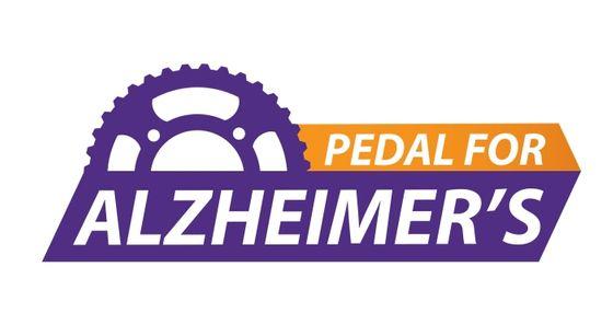 Pedal for Alzheimer's, Ltd. logo