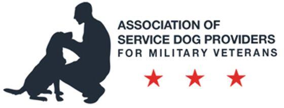 Association of Service Dog Providers for Military Veterans logo