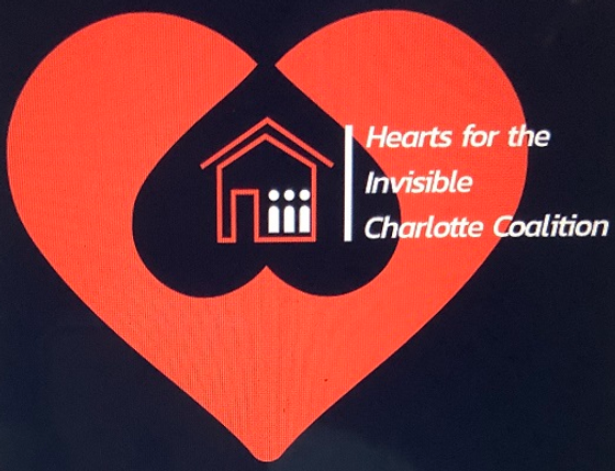 Hearts for the Invisible Charlotte Coalition Inc. logo