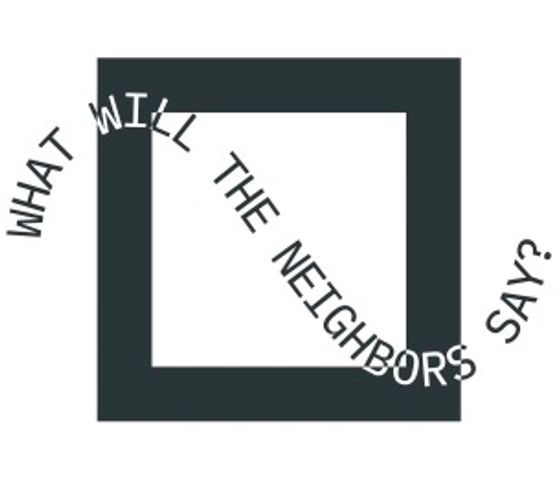 What Will the Neighbors Say? logo